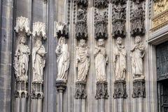 Keulen, de middeleeuwse poort, belangrijkste ingang van de Koepel Royalty-vrije Stock Fotografie
