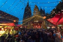 Keulen - Kerstmismarkt stock afbeeldingen