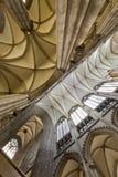 Keulen van de kathedraal binnenland Stock Foto's