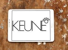 Keune haircare company logo. Logo of Keune haircare company on samsung tablet. Keune has developed into a multinational, specializing in high quality royalty free stock photo
