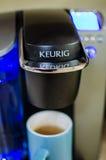 Keurig咖啡设备 图库摄影