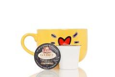 Keurig K-Cup Kaffee Lizenzfreie Stockbilder