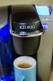 Keurig kaffemaskin Arkivbild