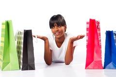 Keus van het winkelen Stock Foto's