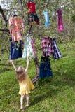 Keus van kleding Royalty-vrije Stock Foto