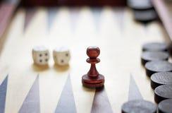 Keus van tafelbladspelen Royalty-vrije Stock Foto's