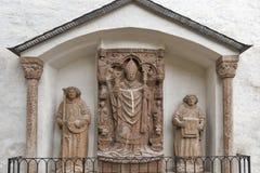 Keutschach纪念碑在萨尔茨堡堡垒Hohensalzburg,奥地利 免版税库存照片
