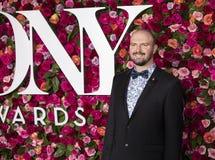 Kevin Adams beim Tony Awards 2018 Stockbilder