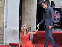 Kevin Bacon,Kyra Sedgwick Stock Images