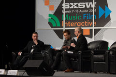 Kevin Bacon at SXSW 2014 stock photos
