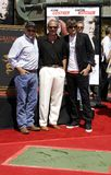 Kevin Costner and Ashton Kutcher Royalty Free Stock Photo
