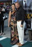Kevin Costner & Christine Baumgartner Royalty Free Stock Photo