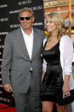 Kevin Costner and Christine Baumgartner Royalty Free Stock Photos