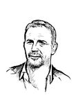 Kevin costner illustration Stock Photos