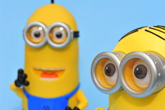 Kevin and dave minions Stock Image