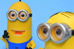 Kevin and Dave minions Stock Photo