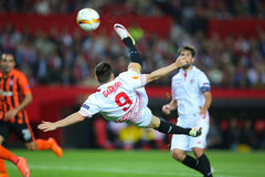 Kevin Gameiro overhead kick-shot Stock Images