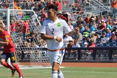 Kevin GUTIERREZ. Defender for the Mexico U20 national team at Peoria Stadium 4,17,16 royalty free stock images