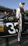 Kevin Harvick à la piste Images stock