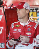 Kevin Harvick. NASCAR Sprint Cup 2014 Champion Kevin Harvick in garage Royalty Free Stock Images