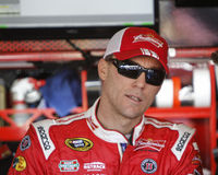 Kevin Harvick. NASCAR Sprint Cup 2014 Champion Kevin Harvick in garage Stock Photography