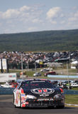 Kevin Harvick sur la piste Photo stock