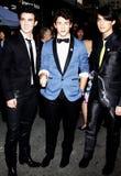 Kevin Jonas, Joe Jonas e Nick Jonas Foto de Stock Royalty Free