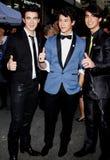 Kevin Jonas, Joe Jonas und Nick Jonas Lizenzfreies Stockbild