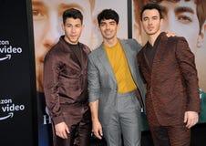 Kevin Jonas, Joe Jonas and Nick Jonas stock photography