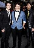 Kevin Jonas, Nick Jonas en Joe Jonas Stock Afbeeldingen