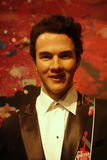 Kevin Jonas Wax Figure Stock Image