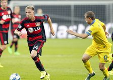 Kevin Kampl Bayer Leverkusen Royalty Free Stock Photography