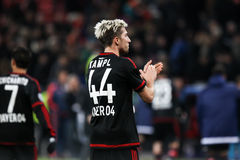 Kevin Kampl during the UEFA Champions League game between Bayer Stock Photography