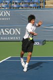 Kevin Kim: Pro Tennis Player Serve Royalty Free Stock Photo