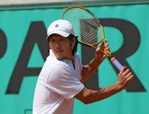 Kevin KIM (USA) at Roland Garros 2010 Royalty Free Stock Photo