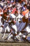 Kevin Mack. Cleveland Browns RB Kevin Mack, #34. Image taken from the color slide Royalty Free Stock Image