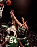 Kevin McHale, centre, Celtics de Boston Image stock