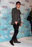 Kevin McHale. LOS ANGELES - JAN 11: Kevin McHale arrives at the FOX TCA Winter 2011 Party at Villa Sorriso on January 11, 2011 in Pasadena, CA royalty free stock image