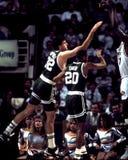 Kevin McHale och Brian Shaw, Boston Celtics Arkivbilder