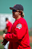 Kevin Millar Boston Red Sox Royalty Free Stock Photo
