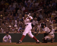 Kevin Millar Boston Red Sox Royaltyfri Foto