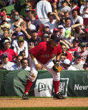 Kevin Millar, Boston Rode Sox Royalty-vrije Stock Foto