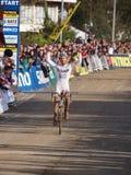Kevin Powels gewinnt den vierten Umlauf 2011-20 Lizenzfreie Stockbilder