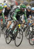 Kevin Reza de Team Europcar Photos stock