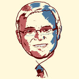 Kevin Rudd portrait Royalty Free Stock Photography