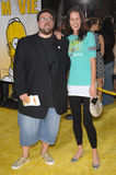 Kevin Smith, Simpsons Royalty-vrije Stock Afbeelding