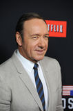 Kevin Spacey. LOS ANGELES, CA - FEBRUARY 13, 2014: Kevin Spacey at the season two premiere of his Netflix series House of Cards at the Directors Guild Theatre Stock Photography