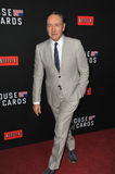 Kevin Spacey. LOS ANGELES, CA - FEBRUARY 13, 2014: Kevin Spacey at the season two premiere of his Netflix series House of Cards at the Directors Guild Theatre Stock Photos
