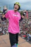 Kevin Staab- - TONY HAWK- UND FREUND-SHOW 2014 Lizenzfreies Stockfoto