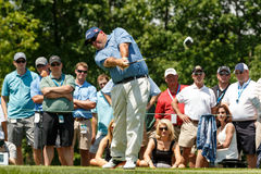 Kevin Stadler at the Memorial Tournament Royalty Free Stock Images